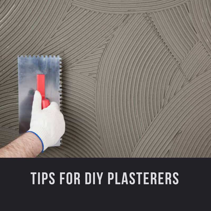 Tips For Improving Your DIY Plastering